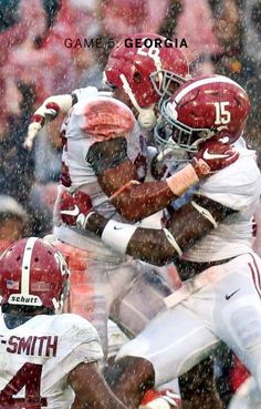 Alabama destroys Georgia 38 - 10 in Athens in rain-soaked contest | from the…