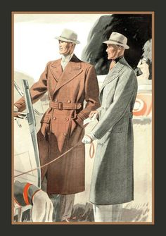 Dapper Gents: Thexton & Wright Tayloring Firm Catalog, 1940s