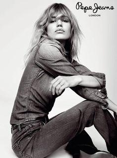 Intervista a Georgia May Jagger, «Adoro mischiare lo stile Denim Fashion, Fashion Models, Fashion Brands, Girl Fashion, Fashion Blogs, Photography Poses Women, Fashion Photography, Good Jean Brands, Calvin Klein Ads