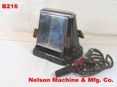 VINTAGE NELSON MACHINE MFG.COMPANY TOASTER OVEN ART DECO ELECTRIC RETRO RARE  !!!!!!  ON AUCTION THIS WEEK!!!!!!