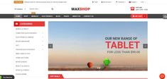 Maxshop theme -Top 9 Ecommerce Theme Wordpress For Your Online Store For 2020 Blog Page, Wordpress Theme, Affiliate Marketing, Ecommerce, Store, Larger, E Commerce, Shop