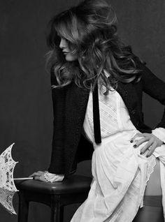 Vanessa Paradis by Karl Lagerfeld