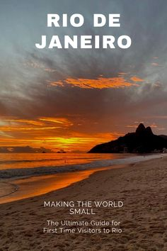 A complete travel guide for people looking to explore the excitement-filled city of Rio de Janeiro. Whether you are looking for what to do in Rio, or the places to eat, check out my recommendations for staying in Rio. I spent two weeks in Rio de Janeiro and absolutely loved it, the food, the beaches, the attractions, the people ... read my guide to Rio de Janeiro and let me help you plan your trip. Brazil Travel, Costa Rica Travel, Peru Travel, Travel Usa, Visit Rio, Visit Brazil, Beach At Night, Seven Wonders, Amazing Destinations