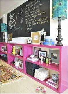 Teen Girl Storage Ideas