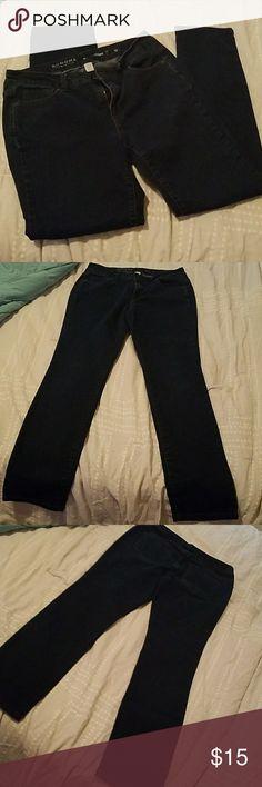 Sonoma straight leg jeans, size 12 Great condition,  dark wash, size 12, straight leg Sonoma Jeans Straight Leg