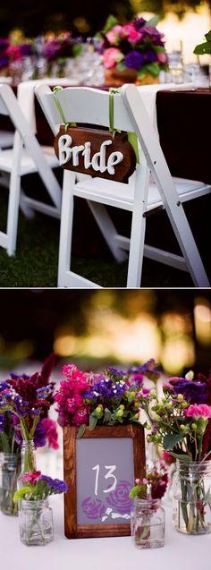 Wedding Crafts: Wood Signs