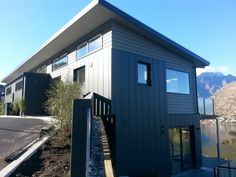 Scyon Stria can be used as an external wall cladding installed either horizontally or vertically in residential and light commercial.