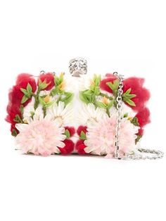 Shop Alexander McQueen 'Skull' floral clutch in Biffi from the world's best independent boutiques at farfetch.com. Shop 300 boutiques at one address.
