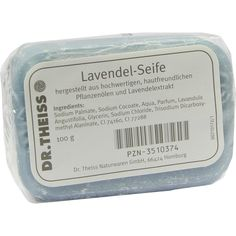 DR.THEISS Lavendel Seife:   Packungsinhalt: 100 g Seife PZN: 03510374 Hersteller: Dr. Theiss Naturwaren GmbH Preis: 1,65 EUR inkl. 19 %…