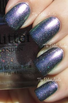 **butterLONDON - Knackered (S/S 2012 Collection) / ThePolishAholic [Layered over Black]