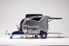 Compact Caravan by Heather , via Behance