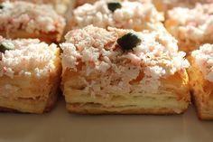 Слойки закусочные Розовый краб рецепт с фотографиями