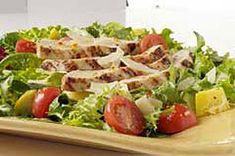 Grilled Chicken and Parmesan Salad recipe