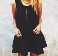 #black #dress #outfit