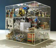 Damián Ortega Damian Ortega, Isometric Cube, Glass Display Case, Damien Hirst, Mexican Artists, Process Art, Modernism, Design Reference, Installation Art