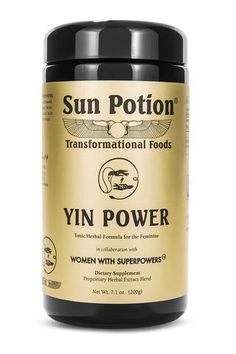 YIN POWER - Organic, Wildharvested Tonic Herbal Formula for Women (and Men!)  - 200g
