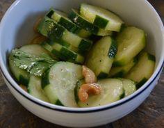 Spicy Cucumber CashewSalad