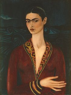 Art That Looks at What Women See - The New York Times Diego Rivera Frida Kahlo, Frida And Diego, Simple Portrait, Portrait Art, Frida Kahlo Portraits, Kahlo Paintings, Modern Art Prints, Art Club, Rare Photos