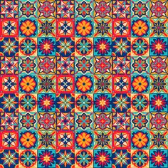 Fun Patterns, Wall Patterns, Moorish, Portuguese, Wall Tapestry, Quilts, Blanket, Rugs, Home Decor