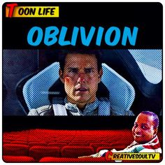"""#SciFi #fans will likely cry frown with how """"Oblivion"""" borrows from another film released a few years back, to tell you the name would give away too much. #Oblivion is an okay #movie based on the #graphic #novel of the same name. It's a slow-moving behemoth of a film that has been #art directed into a coma that not even Tom Cruise or Morgan Freeman can wake you from!"""