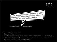 ESADE idiomas. Inglés para profesionales.  / Road Publicidad
