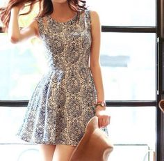 ha-roro: dress // up to off sale Short Skater Dress, Skater Skirt Dress, Dress Up, Skater Skirts, White Cut Out Dress, White Sleeveless Dress, Cute Casual Dresses, Short Dresses, Mein Style