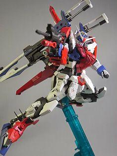 GUNDAM GUY: 1/100 GAT-X012/S Sword Duel Gundam - Custom Build