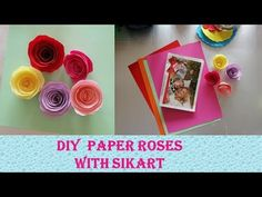 Hello everyone and welcome to a new video! Today's tutorial is about ``How to make Rolled Paper Roses ``Cum sa faci trandafiri din hartie`` From the paper ro. Rolled Paper Flowers, Paper Roses, Colored Paper, Give It To Me, How To Make, Hello Everyone, Diy Paper, Rolls, Make It Yourself