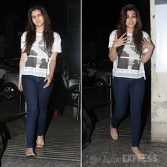 PHOTOS: Alia Bhatt watches Highway with family, grandparents and rumoured beau's sister | The Indian Express