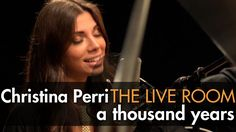 "Christina Perri - ""A Thousand Years"" captured in The Live Room (acoustic version to walk down the aisle to)"