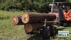 Woodland Mills ATV Logging Trailer Box Trailer, Off Road Trailer, Atv Utility Trailer, Hauling Trailers, Yard Waste, The Ranch, T Rex, Woodland, Garden Junk