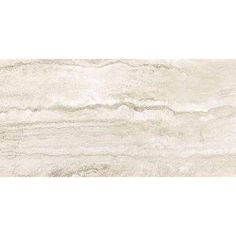 Bernini Bianco 12 in. x 24 in. Glazed Porcelain Floor and Wall Tile (16 sq. ft. / case)