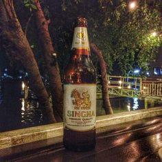 Singha - première marque de bière thaï / Singha, first national brand in Thailand