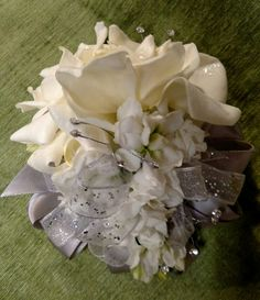 Gardenia wristlet, September 2015