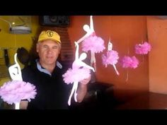 Nany Helena shared a video Diy And Crafts, Crafts For Kids, Arts And Crafts, Paper Crafts Origami, Fabric Crafts, Faux Flowers, Fabric Flowers, Ballerina Room, Fabric Flower Tutorial