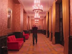 Digg the shining wes anderson grand budapest hotel Best Horror Movies, Horror Show, Scary Movies, Good Movies, Horror Films, Jack Nicholson Gif, Stanley Kubrick The Shining, Creepy Gif, 1980s Films