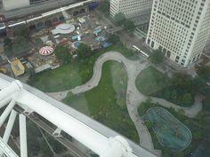 Park in London! From London Eye!
