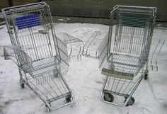 Shopping Cart Chair LINK: http://www.instructables.com/id/Shopping-Cart-Chair/?ALLSTEPS