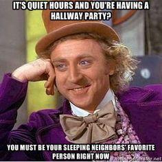 quiet hours
