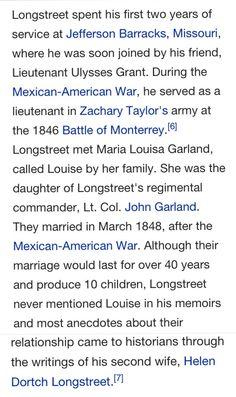 . James Longstreet, Biography, War, History, Historia, Biographies, Biography Books