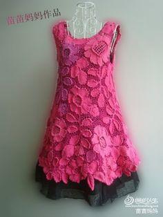 Lindo vestido para menina - how make