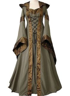Mary Olive Green Copper - dornbluth.de - Medieval Clothes