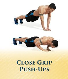 Close Grip Push-Up - The Health Science Journal