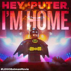 Home sweet home. Er, cave sweet cave. #LEGOBatmanMovie