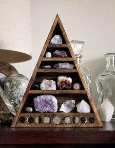 sacred space for precious stones