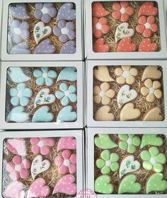 Flower cookies perníčky