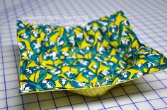 Microwave Bowl Potholder and Tutorial