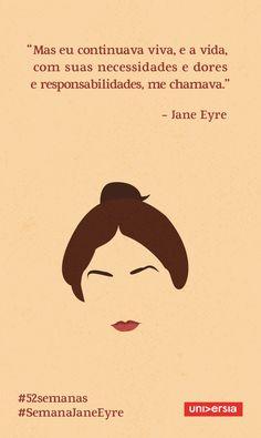 Confira as lições de vida que você pode aprender com as personagens deste clássico da literatura inglesa Maybe Quotes, Jane Eyre, Book Writer, Motivational Phrases, Beauty Quotes, Book Quotes, Book Lovers, Favorite Quotes, Texts
