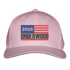 Campaign Underwood 2016 President Embroidered Baseball Cap