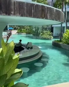3 Storey House Design, Duplex House Design, House Front Design, Small House Design, Modern House Design, Luxury Swimming Pools, Dream Pools, Resort Interior, Beautiful Hotels